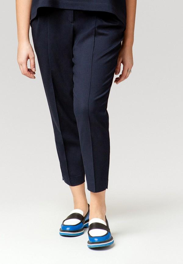 женские классические брюки ummami, синие