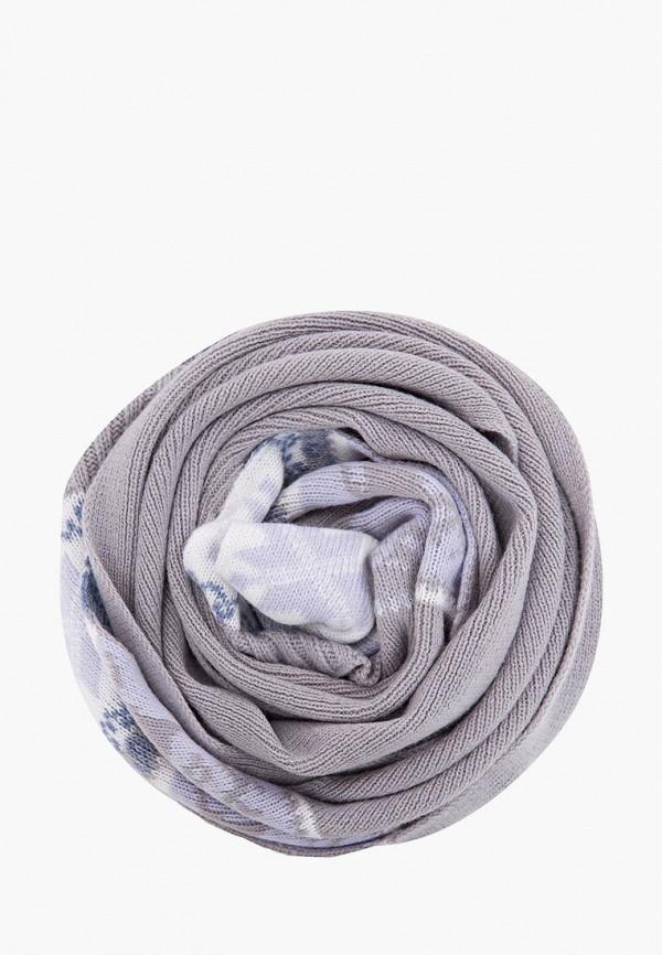 женский шарф finn flare, серый
