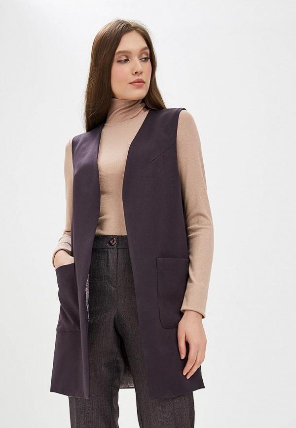 женский жилет akimbo, фиолетовый