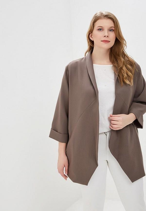 женский жакет montebella style, серый