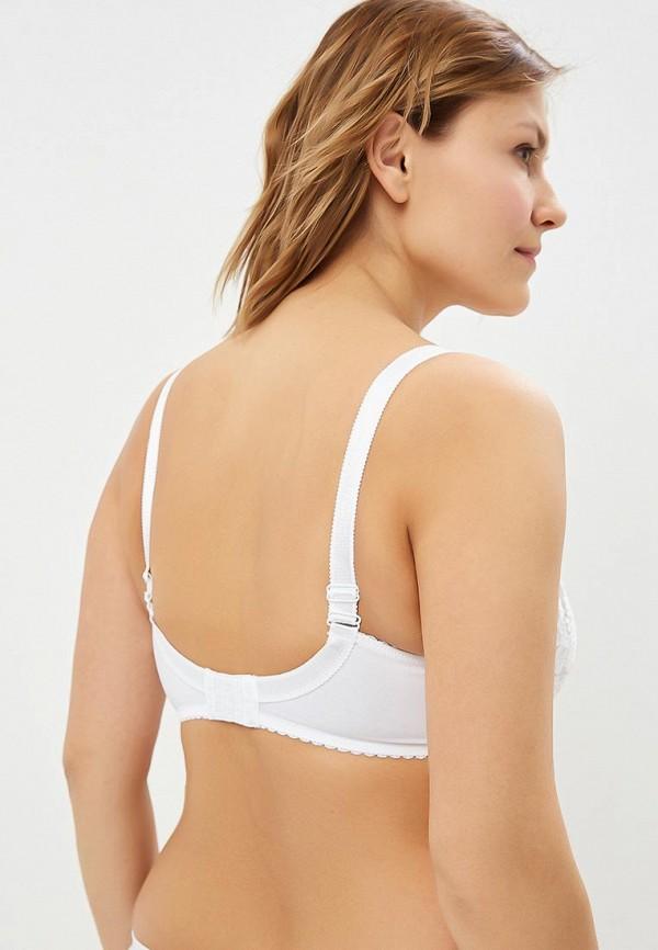 Фото 2 - Бюстгальтер Milabel lingerie белого цвета