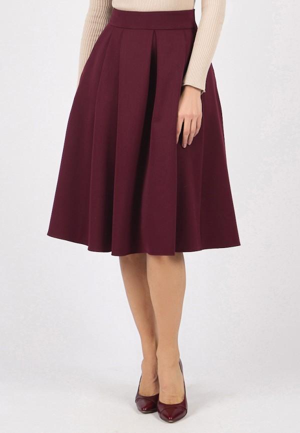 женская юбка olivegrey, бордовая