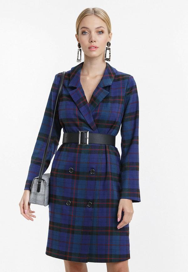 женское платье audrey right, синее