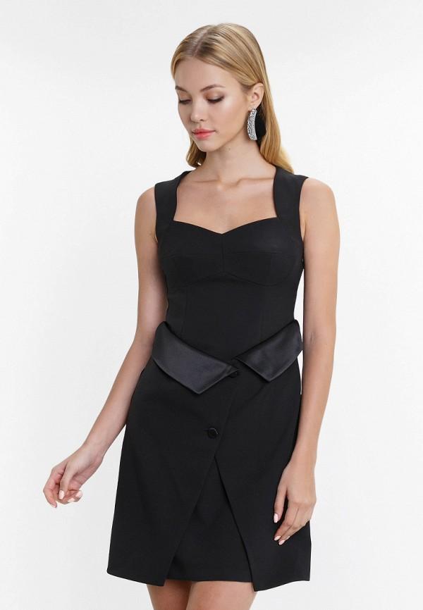 женское повседневные платье audrey right, черное