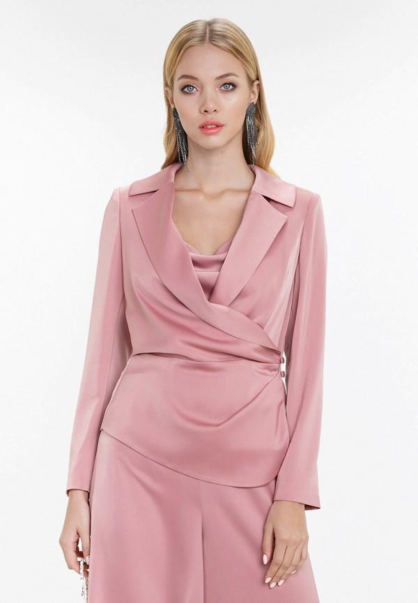 женский жакет audrey right, розовый