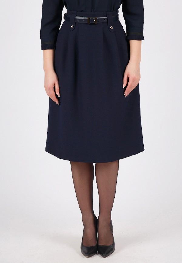 женская юбка grey cat, синяя