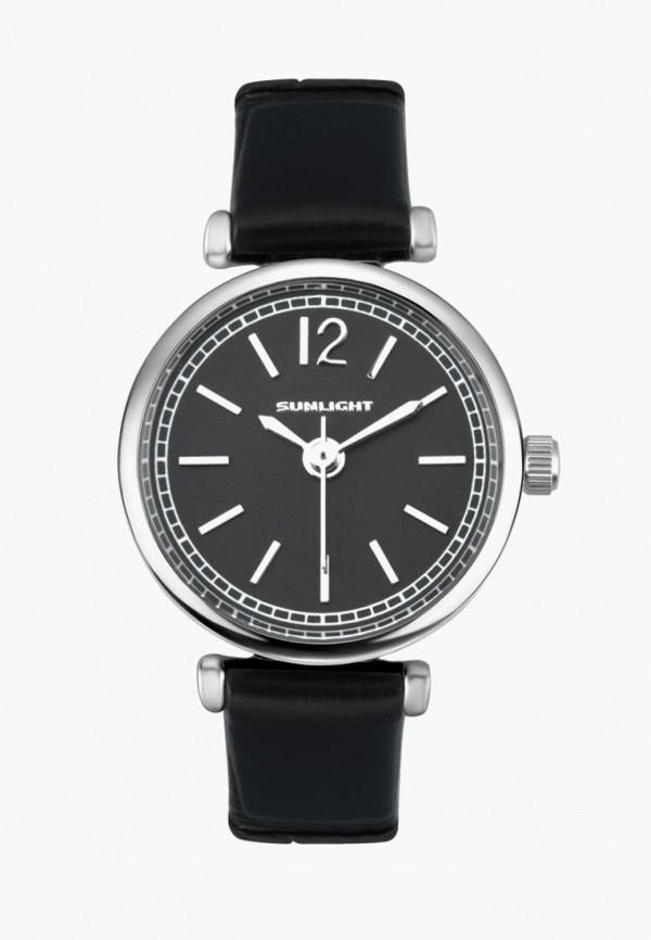 женские часы sunlight, черные