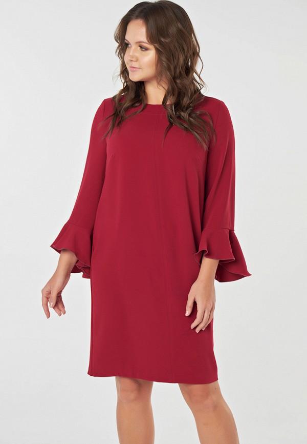 женское повседневные платье fly, красное