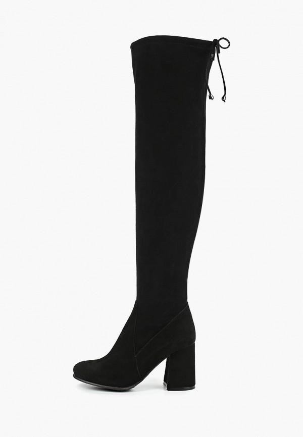 женские ботфорты garro, черные