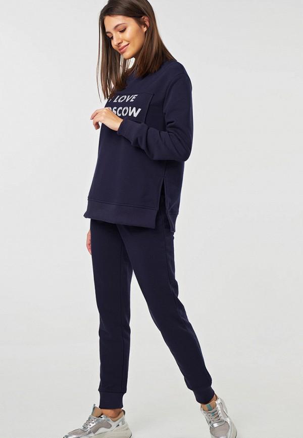 женский спортивные спортивный костюм fly, синий
