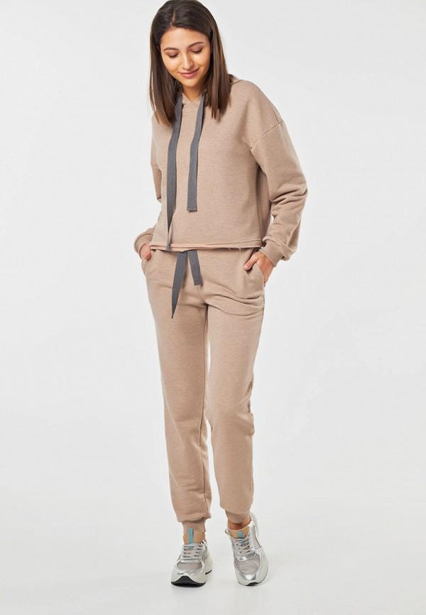 женский спортивные спортивный костюм fly, бежевый