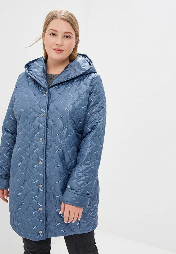 Купить Куртка утепленная Blagof, mp002xw1hppu, синий, Осень-зима 2018/2019