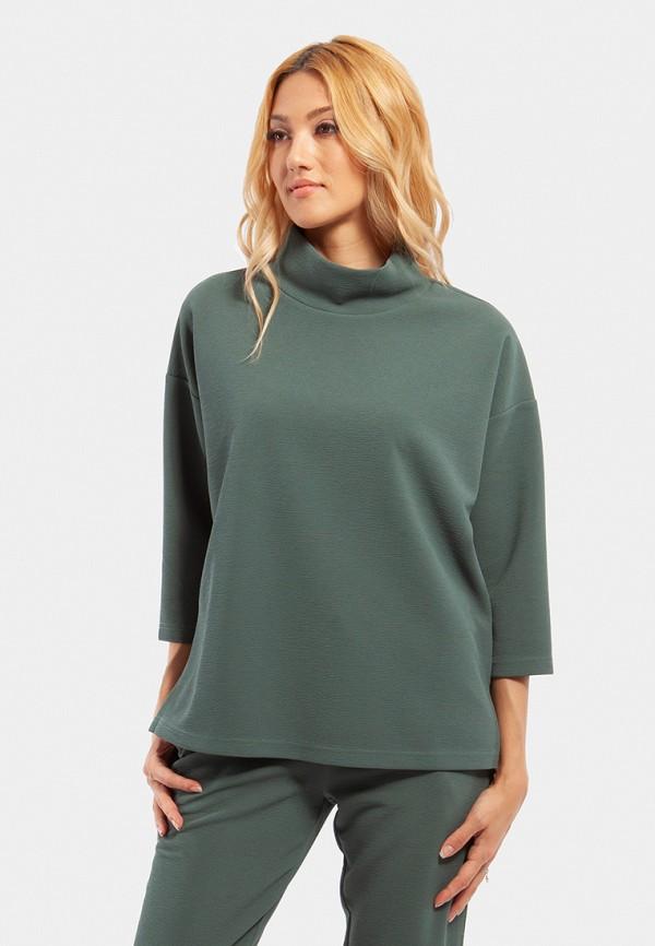 женские худи vladi collection, зеленые