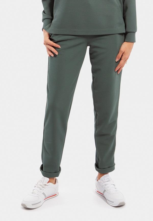 женские спортивные спортивные брюки vladi collection, зеленые