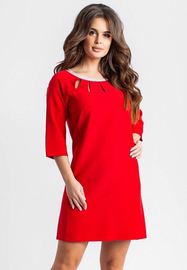 женское вечерние платье modna anka, красное