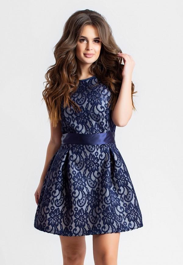 женское вечерние платье modna anka, синее