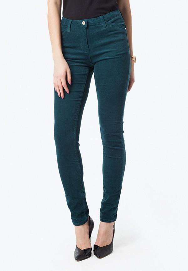 женские зауженные брюки vilatte, зеленые