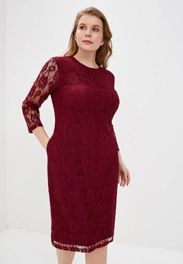 женское вечерние платье svesta, бордовое