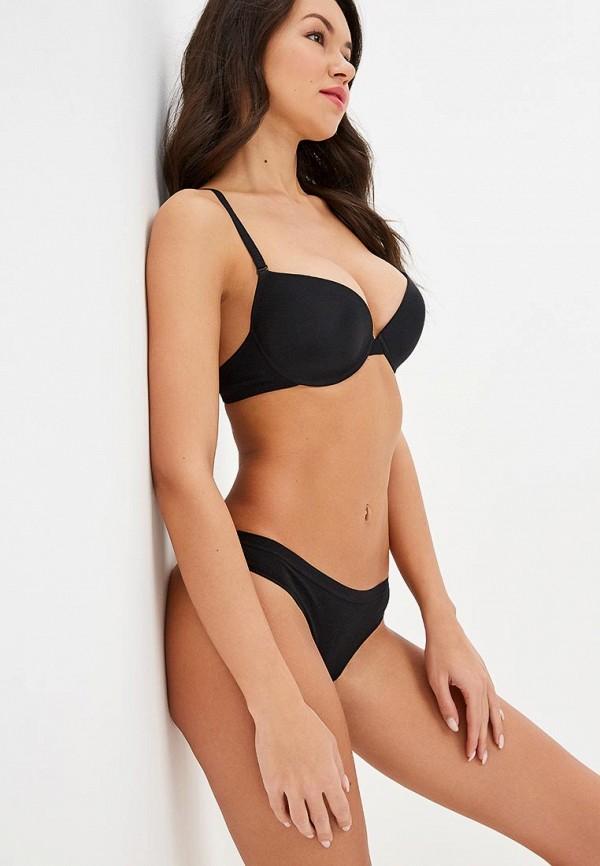 женский бюстгальтер push-up milabel lingerie, черный