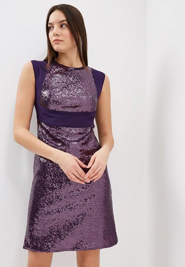 женское вечерние платье gregory, фиолетовое