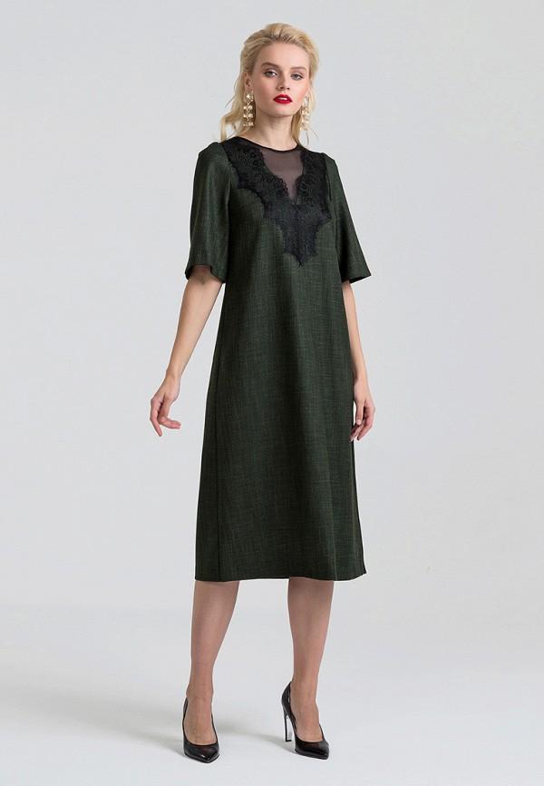 Фото 2 - Платье Lova зеленого цвета