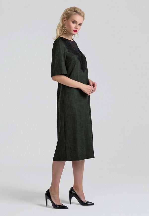 Фото 4 - Платье Lova зеленого цвета