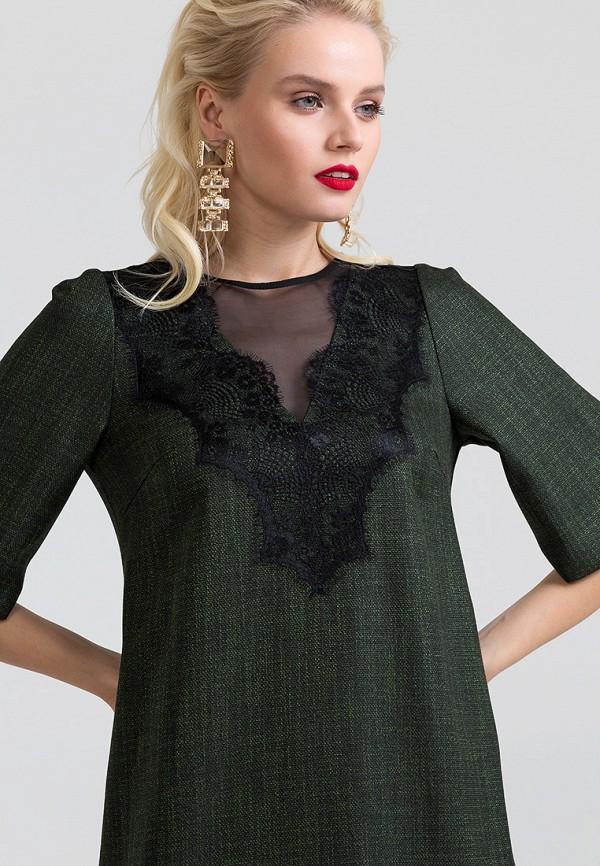 Фото 5 - Платье Lova зеленого цвета