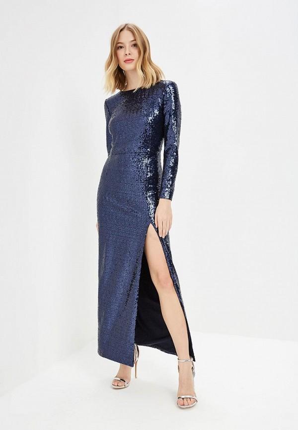 женское вечерние платье self made, фиолетовое