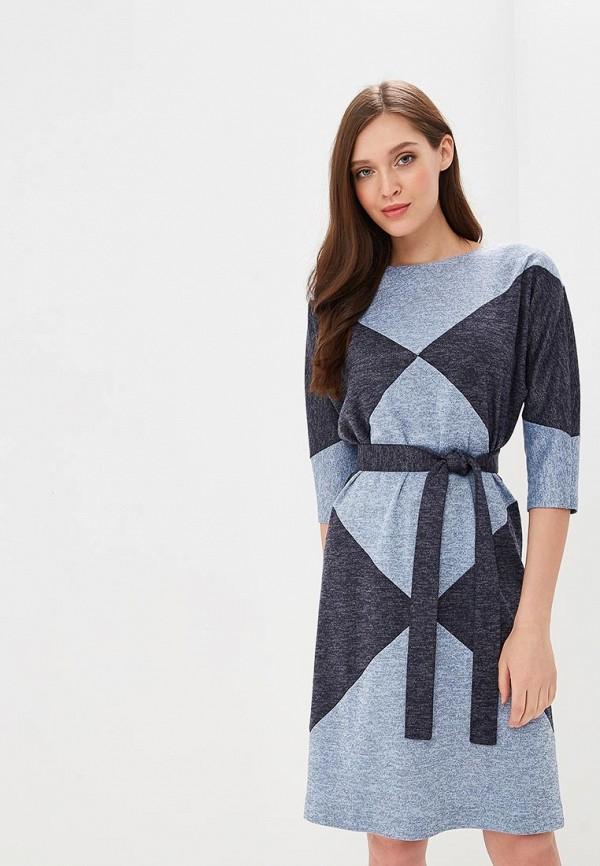 Купить Платье Mari Vera, mp002xw1hq2l, синий, Осень-зима 2018/2019