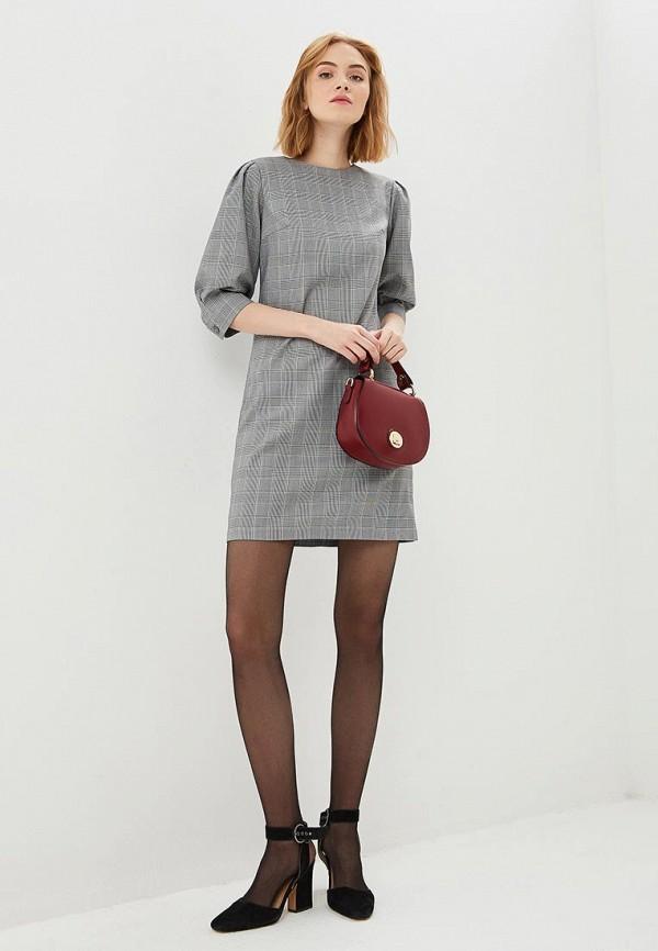 Фото 2 - Платье shovsvaro серого цвета