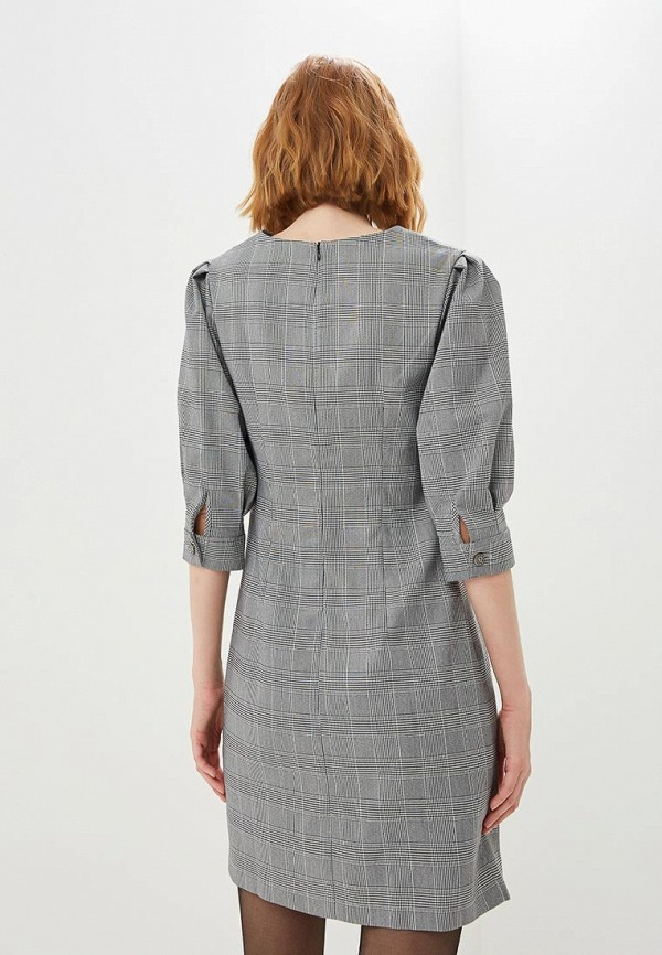 Фото 3 - Платье shovsvaro серого цвета