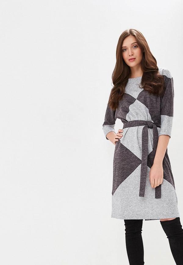 Купить Платье Mari Vera, mp002xw1hq4d, серый, Осень-зима 2018/2019