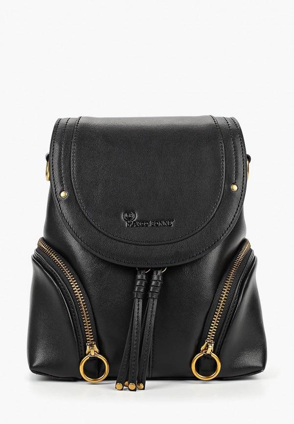 женский рюкзак marco bonne', черный