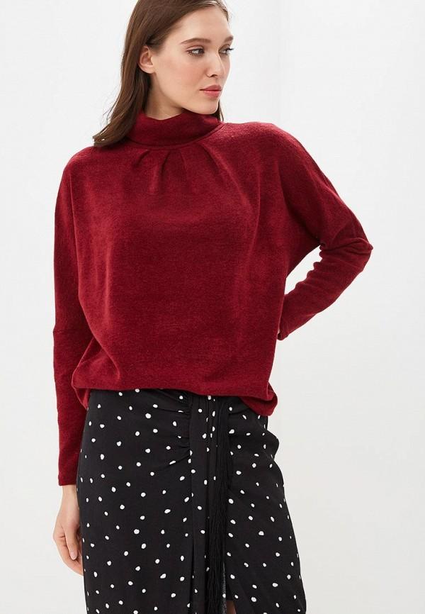 женский свитер mari vera, бордовый