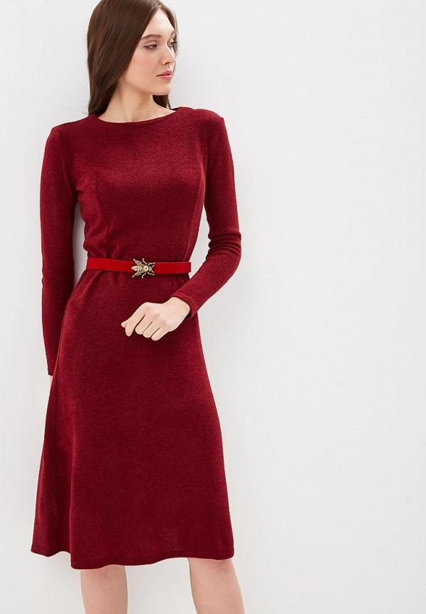 Купить Платье Mari Vera, mp002xw1hq5e, бордовый, Осень-зима 2018/2019