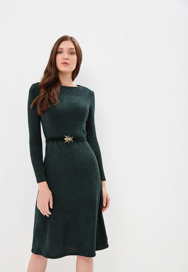 Купить Платье Mari Vera, mp002xw1hq5o, зеленый, Осень-зима 2018/2019