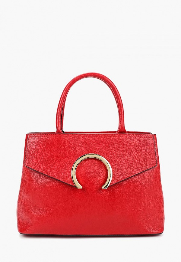 женская сумка dino ricci, красная