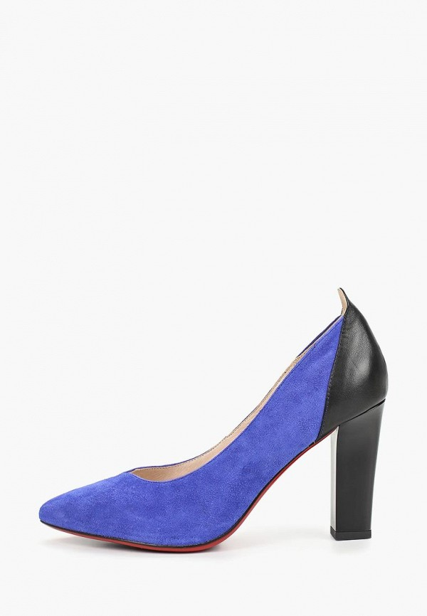 женские туфли berkonty, синие