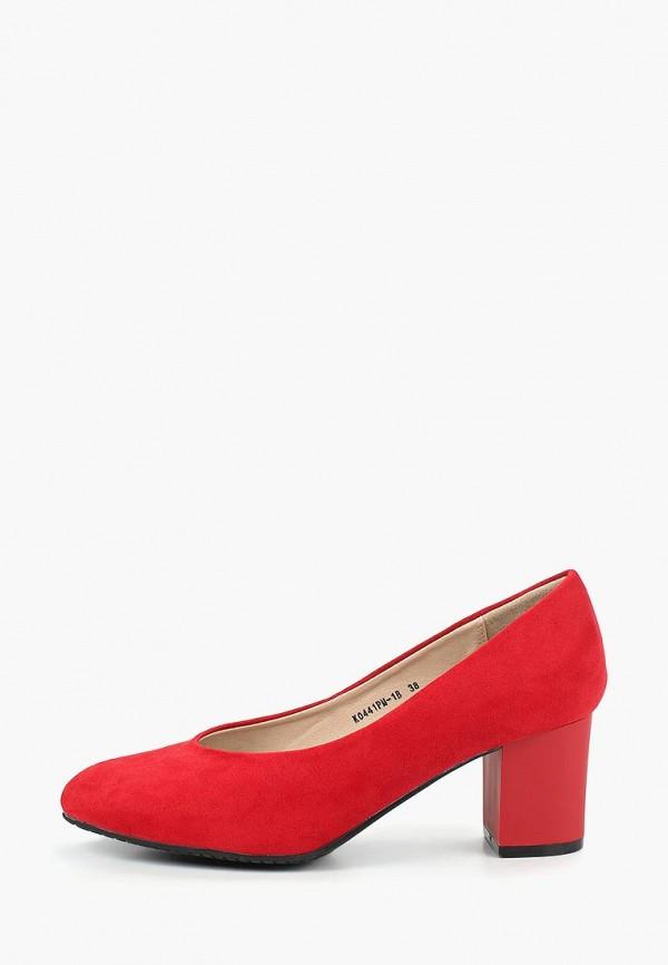 женские туфли t.taccardi, красные