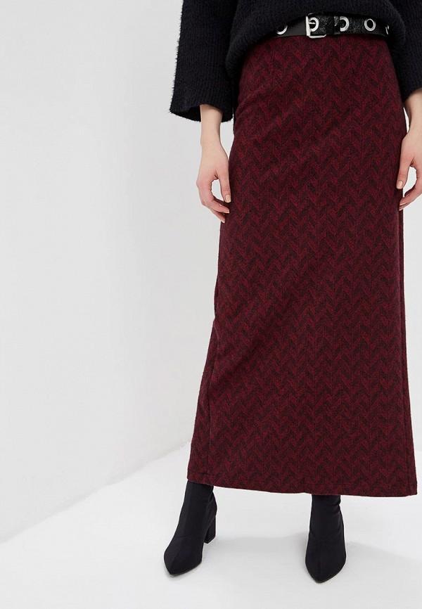 женская юбка sahera rahmani, бордовая