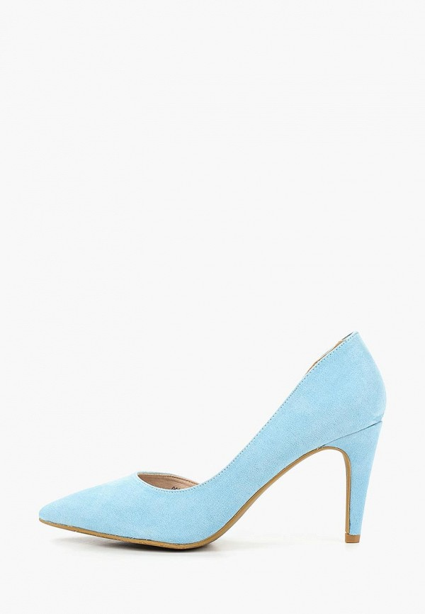 женские туфли t.taccardi, голубые