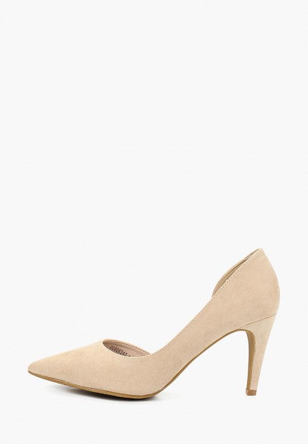 женские туфли t.taccardi, бежевые
