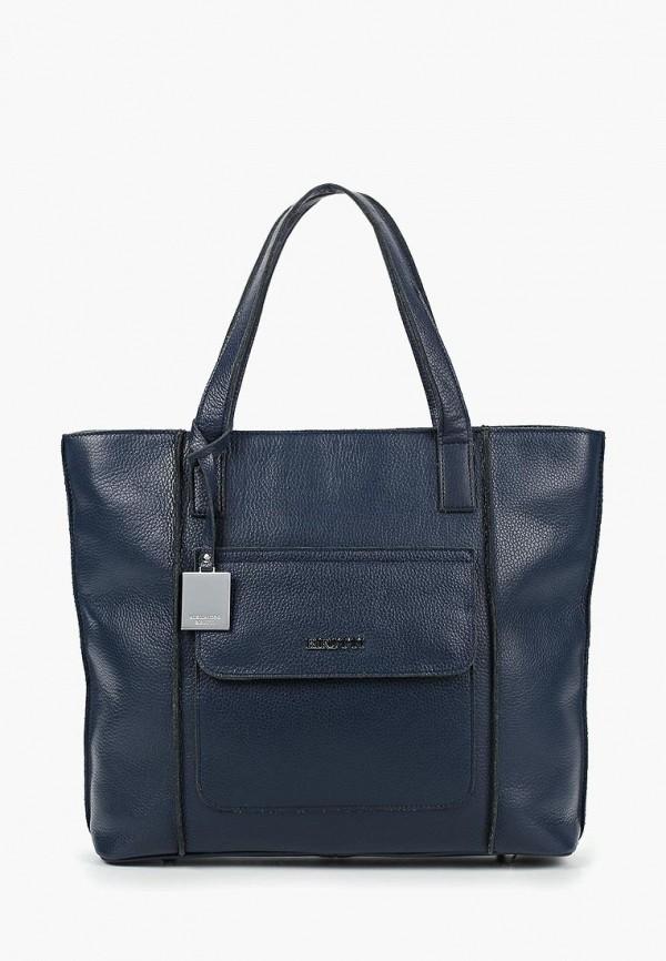 женская сумка alessandro birutti, синяя