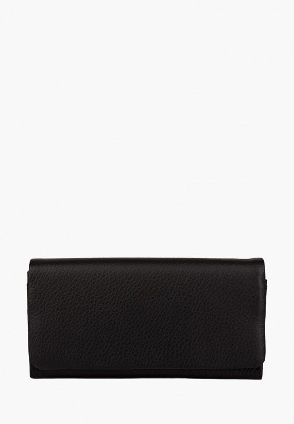 женский кошелёк kafa, черный