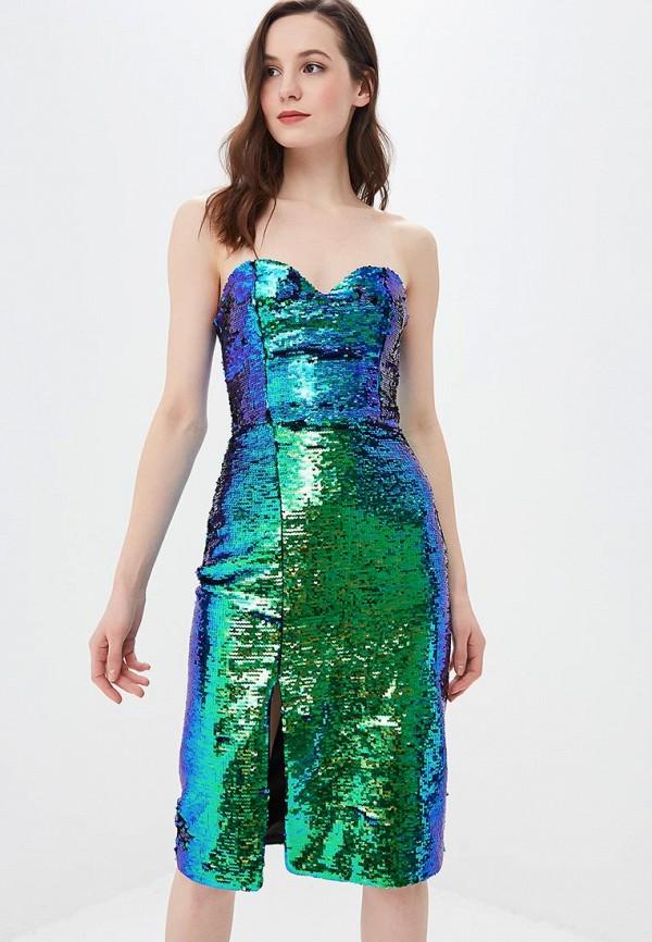 Купить Платье Ruxara зеленого цвета