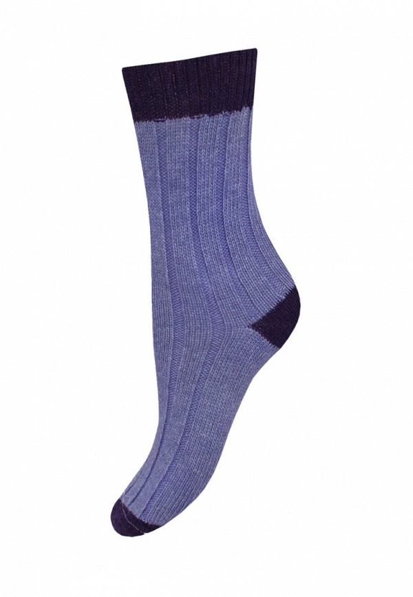 женские носки mademoiselle, фиолетовые