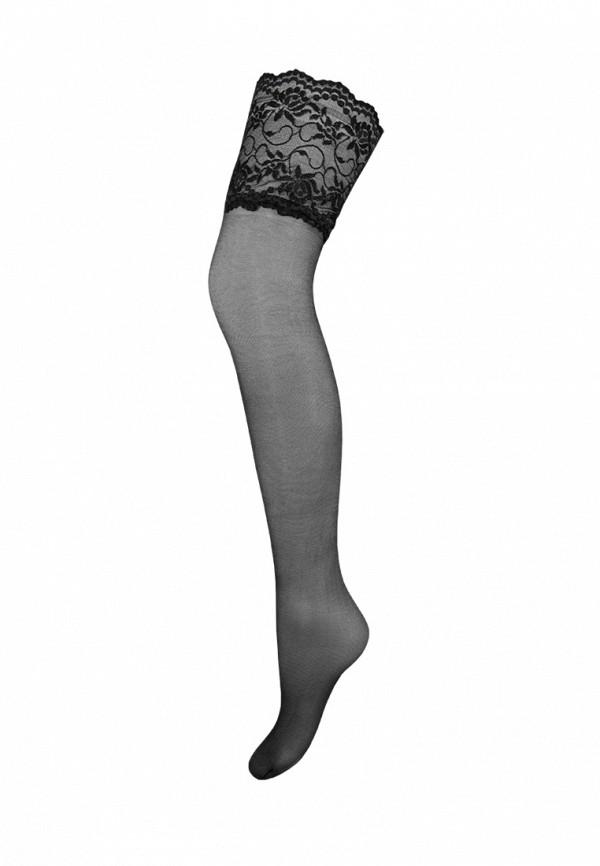 женские чулки mademoiselle, черные