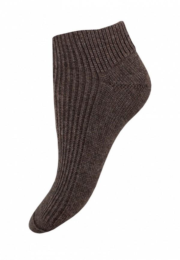 женские носки mademoiselle, коричневые