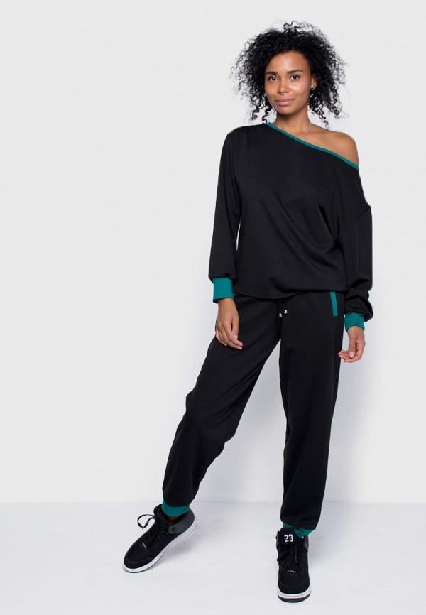 женский спортивные спортивный костюм malaeva, черный