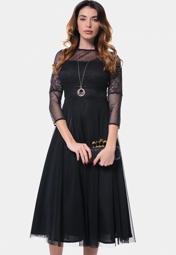 женское вечерние платье arefeva, черное